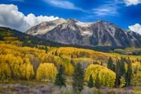 Colorado Rocky Mountain Autumn Season Beauty