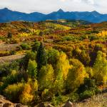 """Colorado Fall Foliage Color Panorama"" by lightningman"