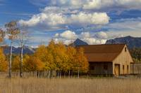 Rocky Mountain Autumn Country Barn