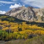 """Rocky Mountain Autumn Season Colors"" by lightningman"