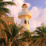 """Lighthouse in Playa Del Carmen, Mexico"" by RoupenBaker"