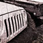 """Distressed Jeep Wrangler Jk"" by LukeMoore"