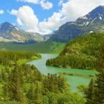 """Winding Through Glacier National Park"" by artsandi"