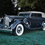 """""""1935 Packard Convertible Sedan"""" by FatKatPhotography"""