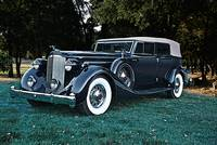 1935 Packard Convertible Sedan