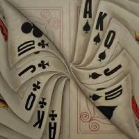 Casino Savvy Black Art Prints & Posters by Wayne Cantrell