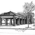 """""""Downers Grove Main St Train Station"""" by marypalmer"""