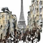 """Eiffel Tower Paris"" by FradetFineArt"