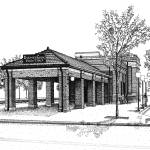 """""""Downers Grove Main Street Train Statio"""" by marypalmer"""