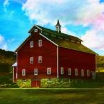 """West Monitor Barn Vermont"" by DBenoit"