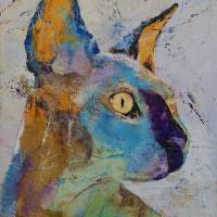 """Sphynx Cat"" by creese"