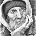 """Homeless Man - PPL844209"" by rdwittle"