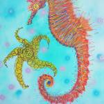 """Sassy Seahorse"" by ArtPrints"