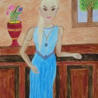 Gwladys Art Prints & Posters by Carol Swing