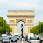 """Arc de Triomphe Rushhour"" by robertmeyerslussier"