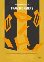 No540 My Transformers minimal movie poster