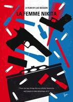 No545 My La Femme Nikita minimal movie poster
