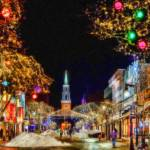 """Christmas In Burlington - CTY648430"" by rdwittle"