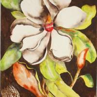 Glorious_Tropical_Flowers Art Prints & Posters by Joyce Ann Burton-Sousa