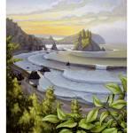 """Sunrise Over the Cove"" by beardart"