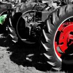 """Tractor Wheels"" by LukeMoore"
