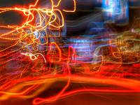 ABSTRACT LIGHT STREAKS #3, of 8 SEPTEMBER 2015