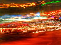 ABSTRACT LIGHT STREAKS #11, of 8 SEPTEMBER 2015