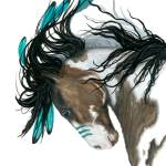 """Majestic in Turquoise"" by AmyLynBihrle"