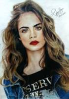 Care Delevingne portrait