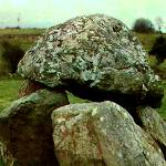 """Carrowmore Dolmen, Sligo, Ireland 1985"" by Lairmistress"