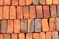 Adobe Bricks in a Pile