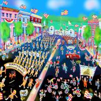 Perrysburg's Memorial Day Parade Art Prints & Posters by Michael Ives