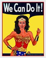 Wonder Woman Can Do It