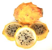 Yellow Pitahaya Slices