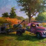 """Truck Garden, Morgan Farm"" by blaney"