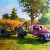 Truck Garden, Morgan Farm Art Prints & Posters by Blaney Harris