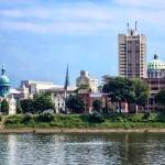"""Harrisburg PA Skyline II"" by susansartgallery"