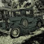 """VINTAGE FORD PICKUP TRUCK"" by shaynaphotography"