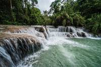 Tad Sae Waterfall, Laos