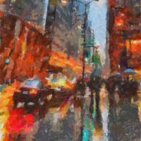 Times Square Art Prints & Posters by Dragica MICKI FORTUNA