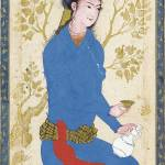 """""""A YOUTH WITH BOTTLE AND CUP, ATTRIBUTABLE TO REZA-"""" by motionage"""
