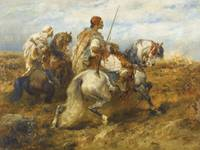 ADOLF SCHREYER ; HORSEMEN