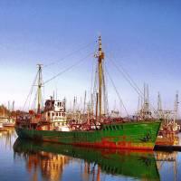 My Hero (Fishing, Vessel) Art Prints & Posters by Jeannette La Tulippe