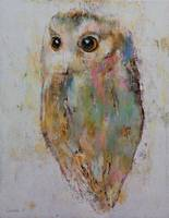 Owl Painting