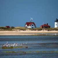Race Point Lighthouse Art Prints & Posters by Jeff Sampson