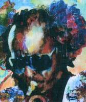 MILES DAVIS Portrait Contemporary Art JAZZ