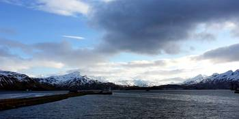 looking west toward Dutch Harbor