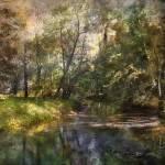 """Hopkins Pond Haddonfield, N.J."" by JohnRivera"