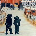 """Winter Fun"" by kimkloeckerart"