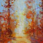 """Autumn Tree Path DM"" by BCArt"